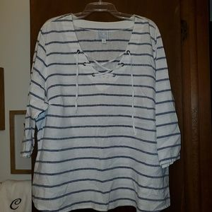 Dress Barn 3/4 Sleeve Shirt